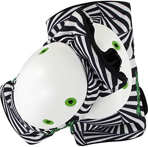 Smith Safety Gear Scabs Elite Hypno ブラック&ホワイト 肘パッド XS