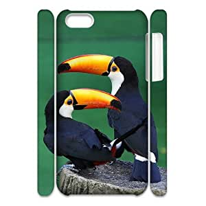 AKERCY Toucan sam Bird Phone 3D Case For Iphone 5C [Pattern-2]