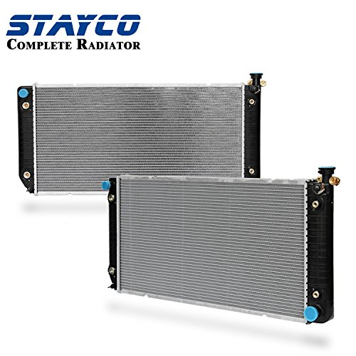 CU624 Radiator Replacement for Chevrolet GMC C1500 C2500 C35 C3500 K1500 K2500 K3500 R25 R20 R30 V30 Yukon Blazer