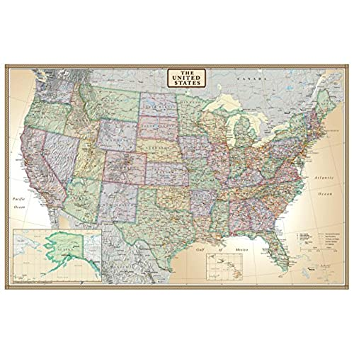 Map of USA: Amazon.com