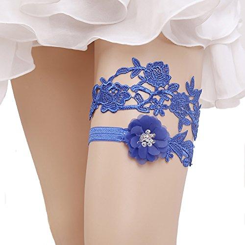Meelino Womens Wedding Lace Legs Garter Belt Set for Bridal Vintage Prom Gift (Set Toss Wedding Garter)