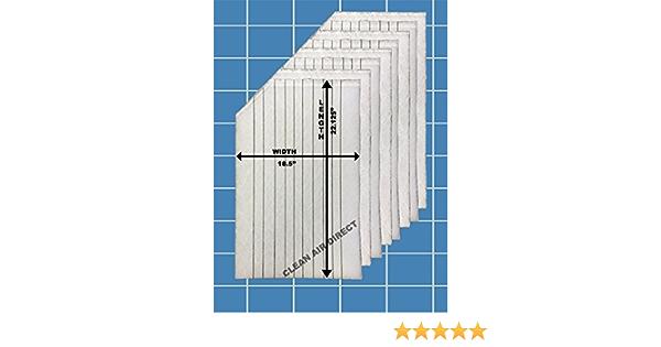 4 Changes Clean Air Direct Cimatec AirCleen 1500 16 X 20