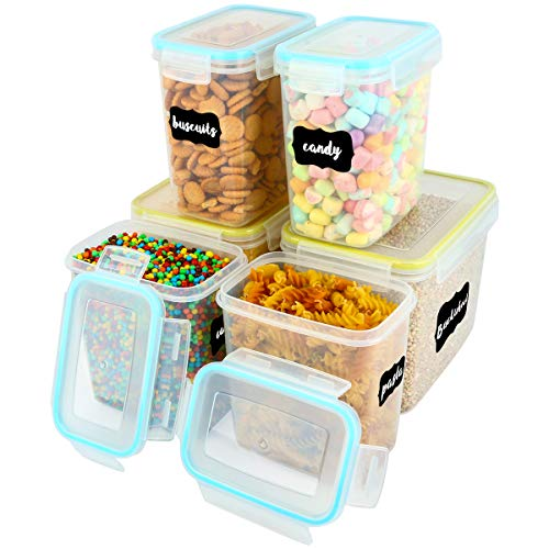 Food Storage Containers, VERONES LARGE SIZE Airtight Sugar