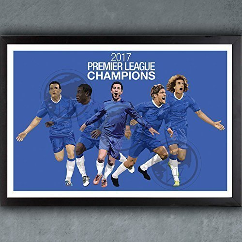 Chelsea Champions Poster - Chelsea Soccer Art