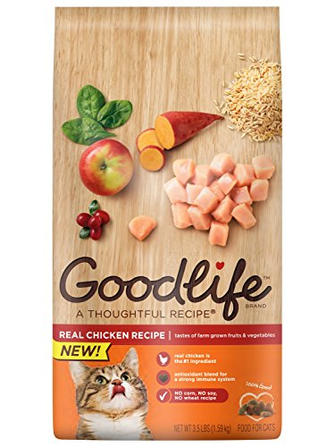 GOODLIFE Adult Dry Cat Food 51mfkgeoONL