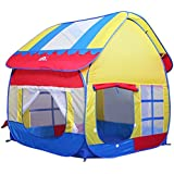 Roadacc (TM) Big Playhouse with Removable Roof for Kids Large Space Children Tent for Fun Outdoor an