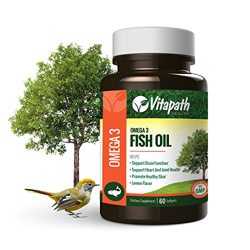 Omega 3 fish oil 1480mg vitamin supplement promotes joint for Fish oil for joints