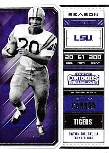 Billy Cannon LSU Tigers Football Jersey - Purple