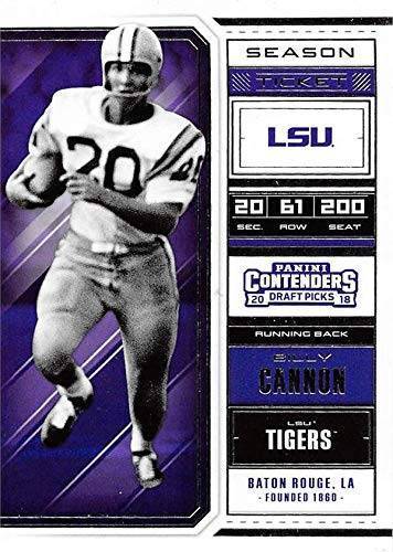 36219192ce3 Image Unavailable. Image not available for. Color  Billy Cannon football  card (LSU ...