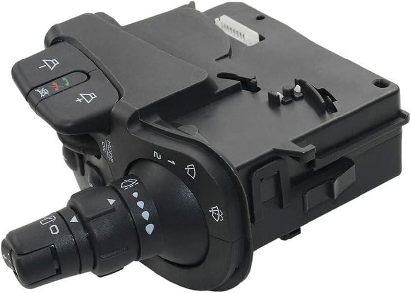 Opaltool interruttore indicatore luce stelo compatibile per Kangoo Clio 3 Modus 8201590631 7701068115 indicatore di direzione radio tergicristallo