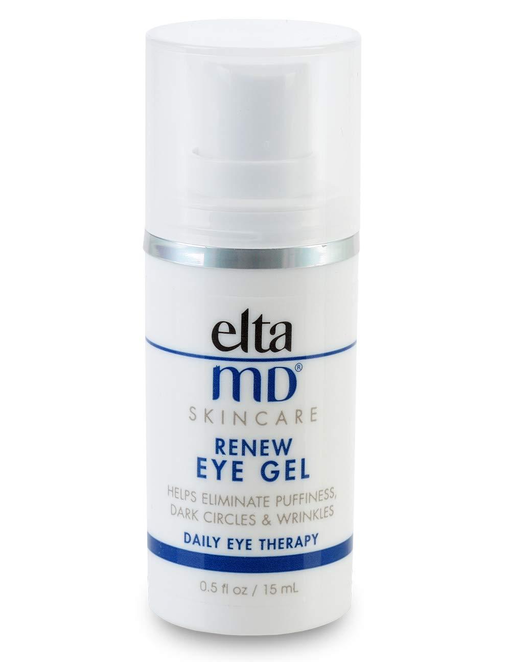 EltaMD Renew Eye Gel for Dark Circles, Fine Lines Around Eyes, Clinically-Proven Eye Cream, Oil-free, 0.5 oz by ELTA MD