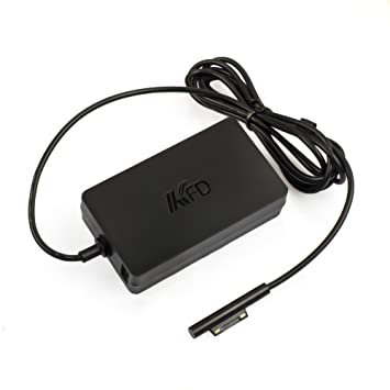 KFD Cargador portátil 12V Adaptador para Microsoft Surface Pro 3 / Pro 4, Surface Pro 4, Surface 3, Surface Pro 3 1625 Intel Core i7 i5 Tablet Windows ...