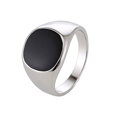 e8134eafec52e7 Men Jewelry Stainless Steel Ring Minimalist Design Plated Mens Rings|Amazon .com