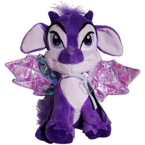 - Faerie Ixi- Neopets Series 3 Key Quest Virtual Prize Bean Bag Plush
