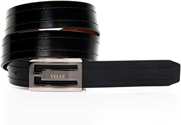 VÉLEZ Genuine Leather Belts For Men | Cinturones Cuero De Hombre