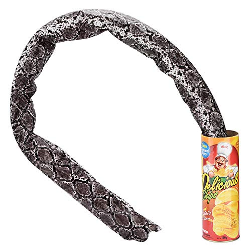 Novelty Snake Trick Toy Potato Chip Can Funny Pranks Joke Jump Pop Out Spring Party Supplies]()