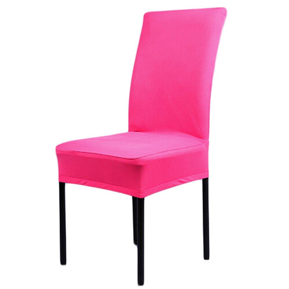 Yunt 6 x Housses de Chaise Extensible en /Élasthanne Housses Rev/êtement Universelle de Chaise pour Maison Banquet Mariage Rouge