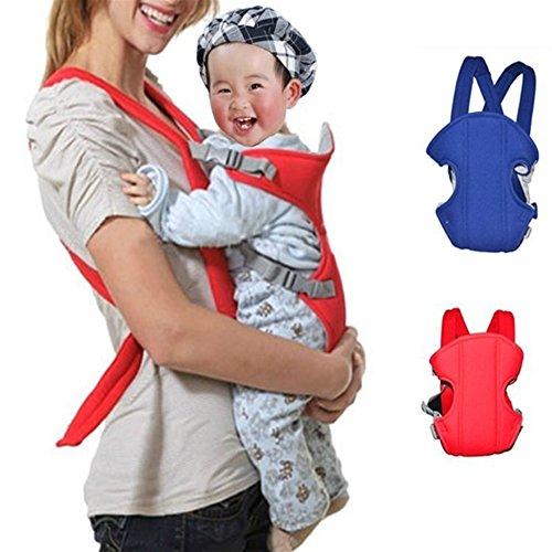 Supremaimer Canguru Mochila Manduca Baby Rider Sling Carrier Comfort Wrap Infant Children Portable Backpack Front Pocket for 2-18 Months (COLOR:BLUE)