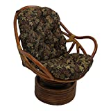 Best Home-X Chair Rockers - Blazing Needles Patterned Tapestry Swivel Rocker Chair Cushion Review