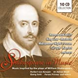 Music inspired by the plays of William Shakespeare: Romeo and Juliet, Macbeth, Hamlet, King Lear, amo.