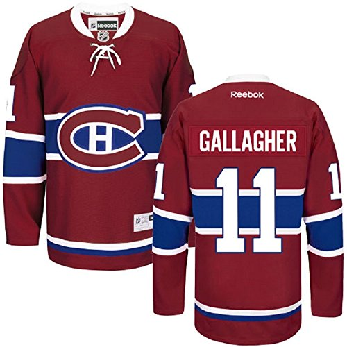 Brendan Gallagher Montreal Canadiens Burgundy Youth LNH Reebok Premier Home Jersey (Youth Small/Medium)