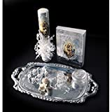 Catholic & Religious Gifts, Presentation Gift Set Silver Spanish