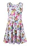 Liliane Tutu Dress for Girls Summer Dresses for Girls Dress 4t 5t Dresses for Girls(A009,4-5Y)