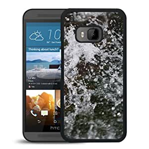 New Beautiful Custom Designed Cover Case For HTC ONE M9 With Melting Winter Snow Phone Case