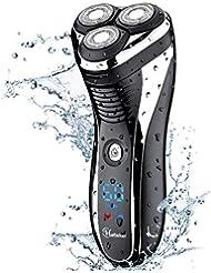 Hatteker Electric Shaver Rotary Razor Men Cordless Beard...
