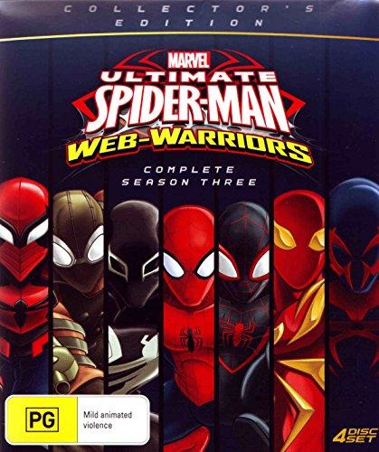 (Ultimate Spider-Man Season 3 | Collectors Edition | 4 Discs | NON-USA Format | PAL Region 4 Import - Australia)