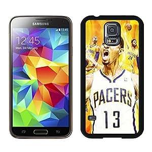 New Custom Design Cover Case For Samsung Galaxy S5 I9600 G900a G900v G900p G900t G900w Indiana Pacers Paul George 6 Black Phone Case
