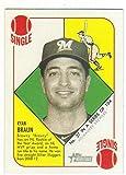 2015 Topps Heritage 51 Collection #37 Ryan Braun Milwaukee Brewers