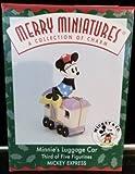 Merry Miniatures 1998 Minnie's Luggage Car
