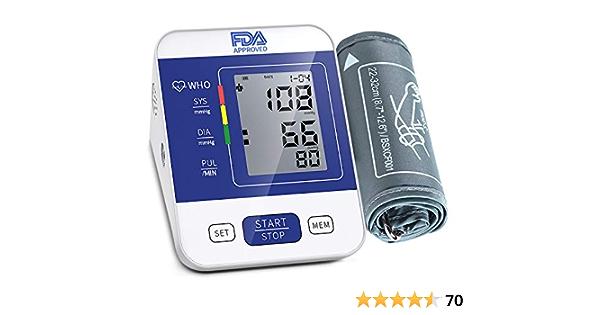 Upper Arm Blood Pressure Monitor,Automatic Digital BP Machine ,Adjustable Cuff