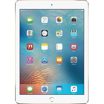 iPad Pro 9.7-inch (128GB, Wi-Fi + 4G LTE Cellular, Gold) MLQ52LL/A 2016 Model