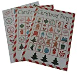Christmas Bingo Holiday Party Game for All Ages Great For Kids and Adults for 24 Players
