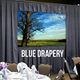 Dalite-36522BUP F/F Duk Dlx,10X10 Uv Projector Screen or accessory.(DRAPERY ONLY)