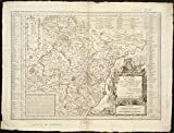 Historic Map | 1764 EveI'cheI? de Dijon | Antique Vintage Reproduction