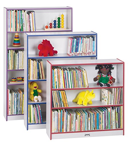 (Rainbow Accents 0961JC005 Standard Bookcase, Teal)