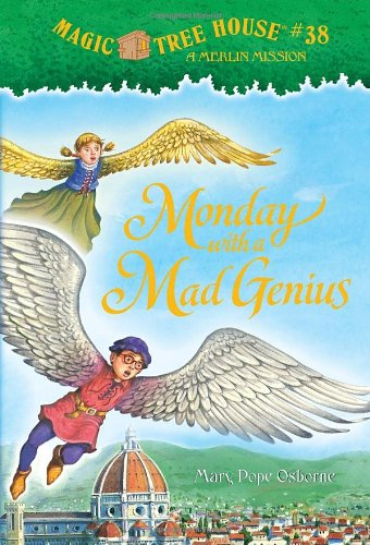 """Monday with a Mad Genius - Book #10 of the Magic Tree House """"Merlin Missions"""""""