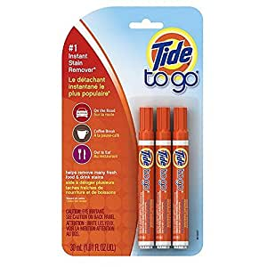 Tide to Go Instant Stain Remover Pens 3 ea (Pack of 1)
