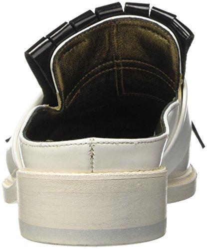 Pantofole Bianco Barracuda A Bd0729 Donna Alto Collo x6qYaU5wq