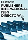 Publishers International ISBN Directory 2010, , 3110230763