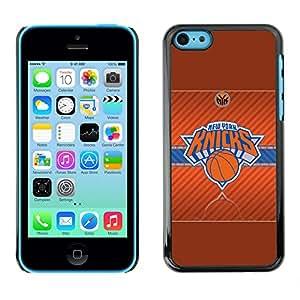 Design for Girls Plastic Cover Case FOR iPhone 5Cs New York Knick Basketball OBBA