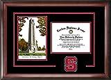 NCSU NC State Wolfpack Alumni Mahogany Diploma Frame