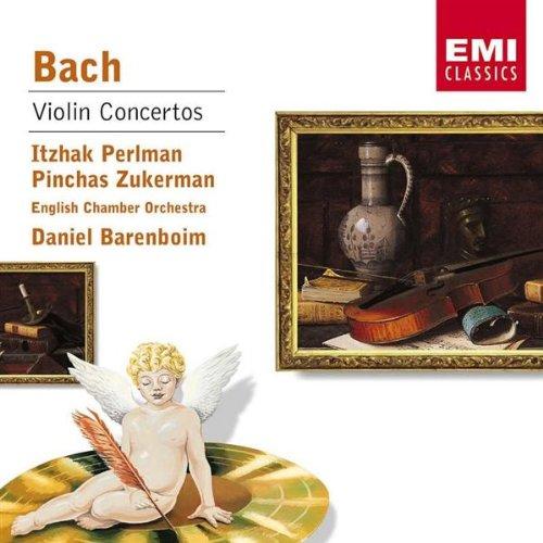 Itzhak Perlman, Pinchas Zukerman, J.S. Bach, Daniel Barenboim ...