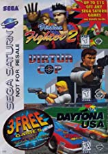 Sega Saturn 3 Games Pack: Virtua Fighter 2 Virtua Cop Daytona USA