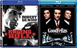 Goodfellas + Raging Bull Blu Ray Movie Set Robert De Niro Bundle Double Feature