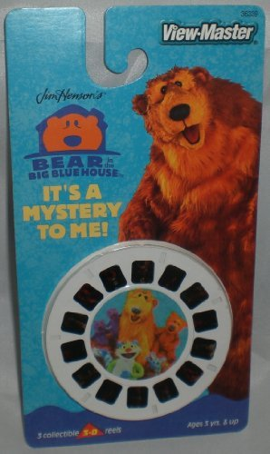 Bear in the Big Blue House ViewMaster - 3 Reel Set - 21 3d Images