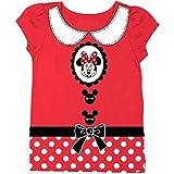 Disney Minnie Mouse Toddler Little Girls' Costume Dress Up Tee T-Shirt